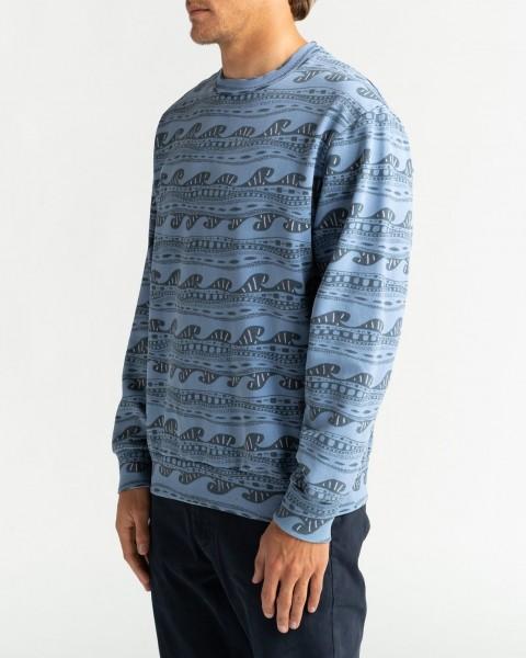 Муж./Одежда/Толстовки и флис/Свитшоты Мужская толстовка Wave Wash Halfrack