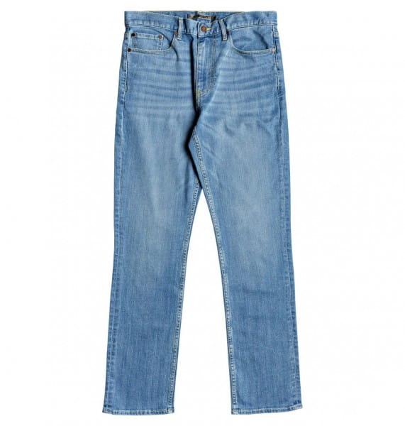 Зеленые мужские прямые джинсы worker straight