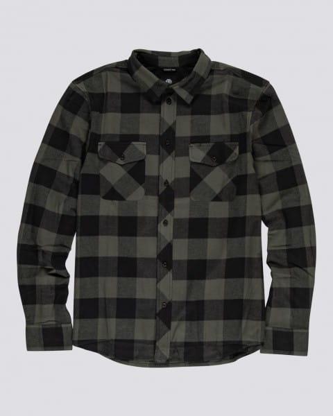 Серый мужская рубашка с длинным рукавом tacoma