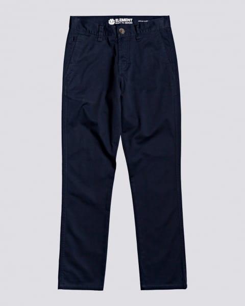 Голубой узкие детские брюки howland