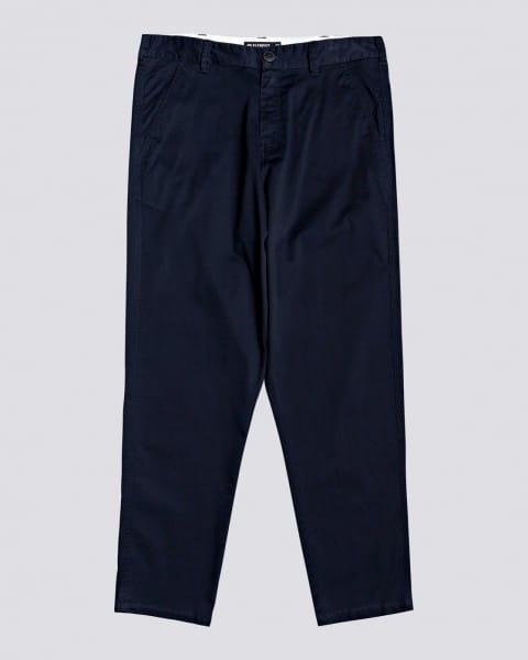 Голубой мужские брюки-чинос union