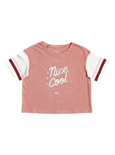 Розовый детская футболка polynesia 4-16