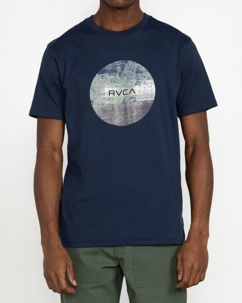 Синий мужская футболка motors