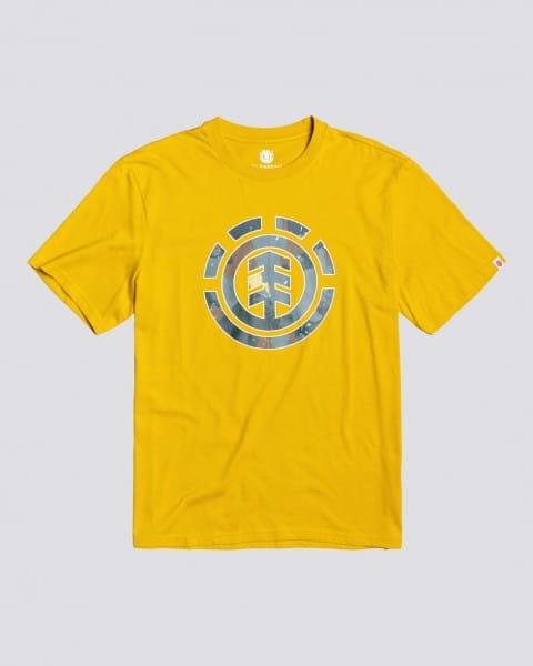 Голубой детская футболка water camo icon fill