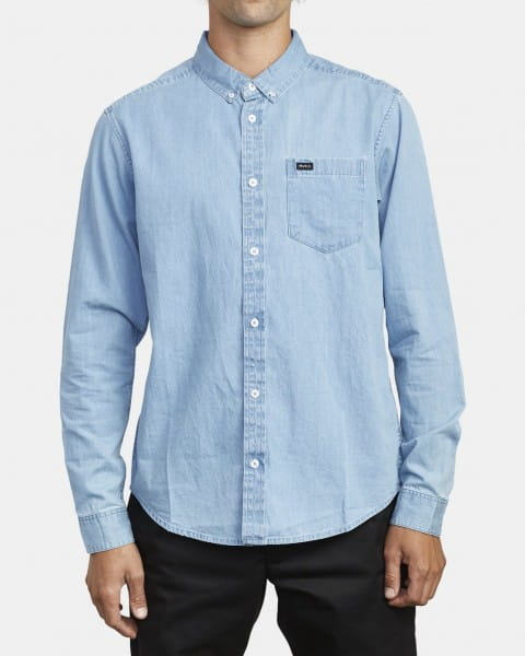 Бордовый мужская рубашка с длинным рукавом hastings