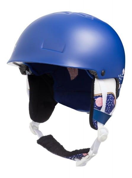 Коричневый детский сноубордический шлем happyland