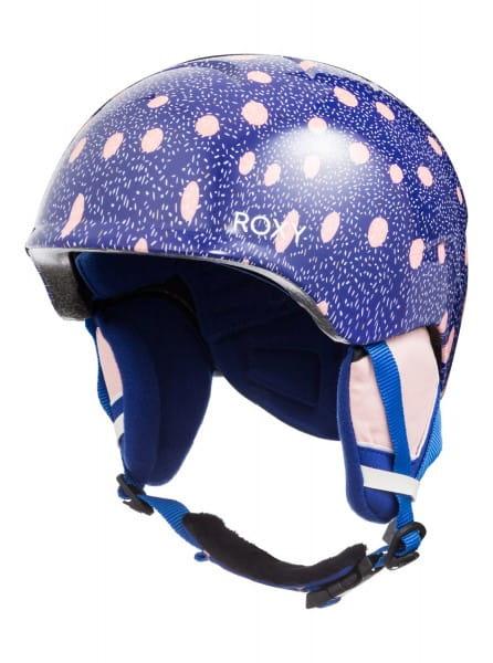 Коричневый детский сноубордический шлем slush