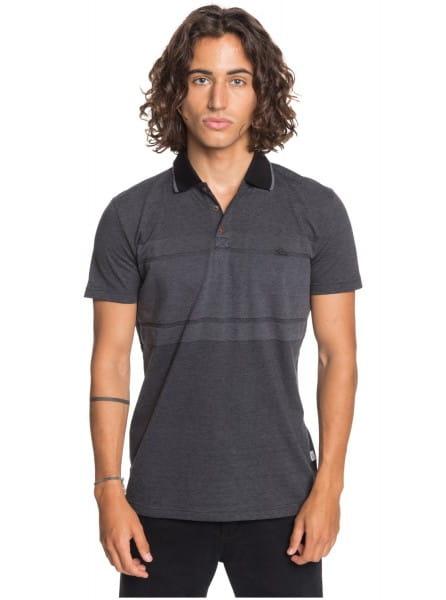 Черное мужская рубашка-поло les ramiers