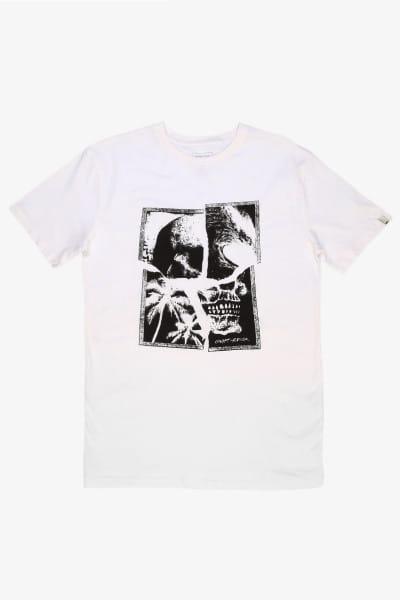Коричневый мужская футболка shattered skull flaxton