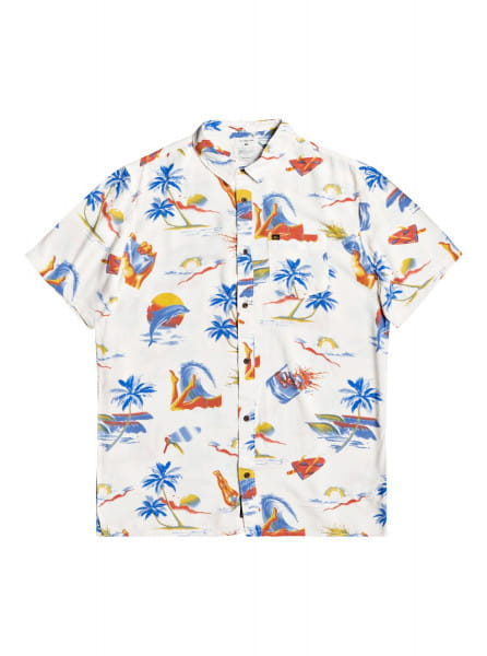 Муж./Одежда/Рубашки/Рубашки с коротким рукавом Мужская рубашка с коротким рукавом Sun Damage