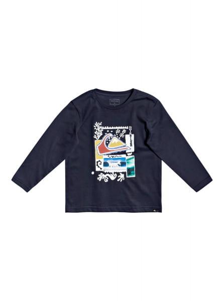 Мал./Мальчикам/Одежда/Футболки и майки Детский лонгслив Pike Street 2-7