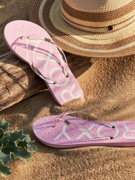 Розовые женские сандалии viva jelly