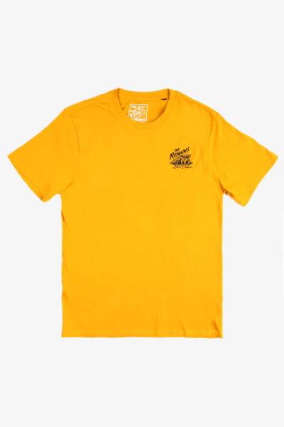 Желтый мужская футболка timber! the remains b-side