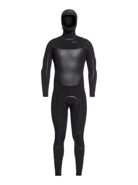 Мужской гидрокостюм с капюшоном и молнией на груди 4/3mm Syncro