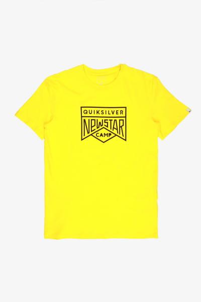 Желтый футболка new star camp flaxton