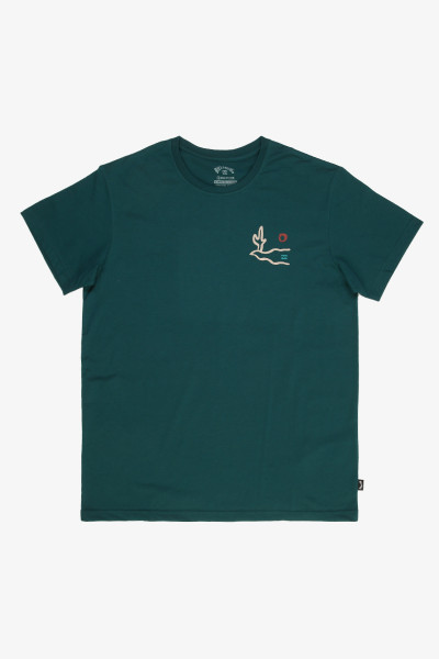 Бирюзовый мужская футболка adventure division sidewinder