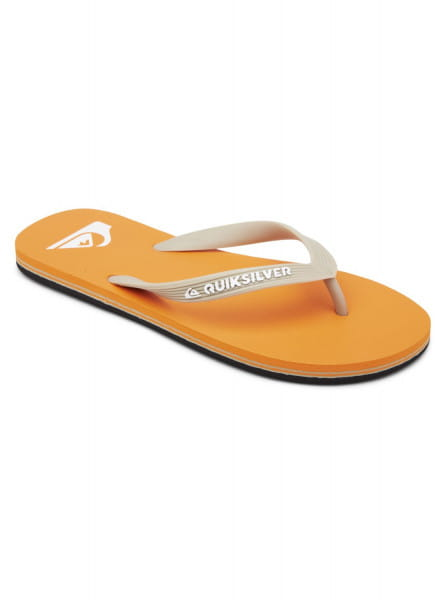 Оранжевые мужские сланцы molokai
