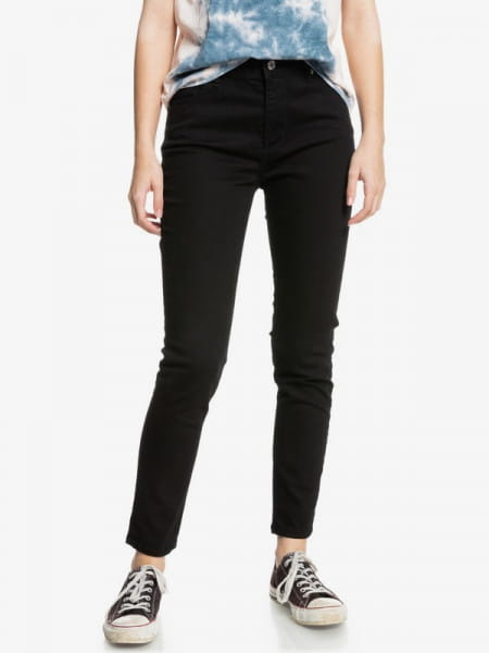 Фиолетовые женские скинни джинсы the 5pkts