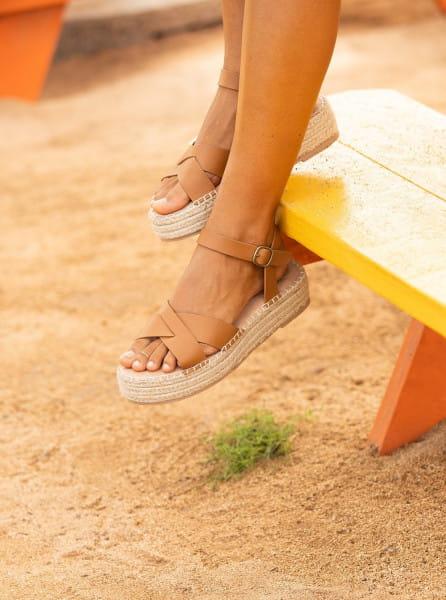 Жен./Обувь/Сандалии/Сандалии Женские кожаные сандалии Maya