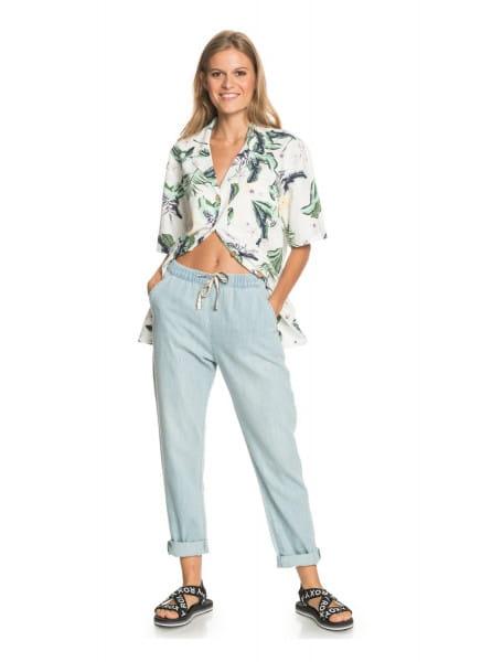 Жен./Одежда/Джинсы и брюки/Джинсы широкие и расклешенные Женские свободные джинсы Slow Swell Beachy Beach