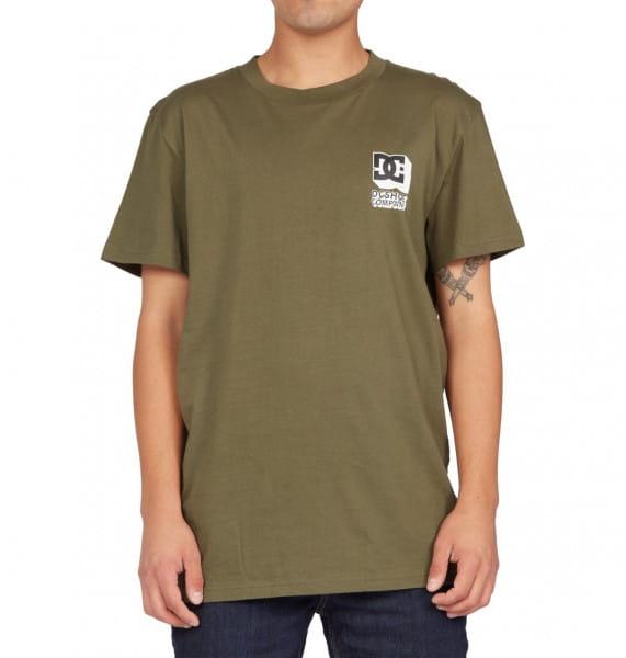 Зеленый мужская футболка company goods