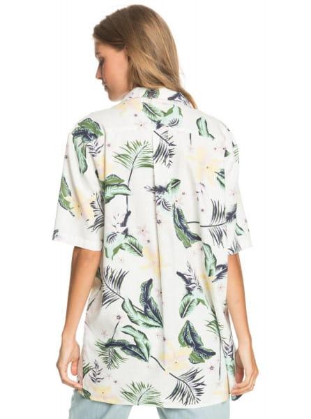 Жен./Одежда/Блузы и рубашки/Рубашки с коротким рукавом Женская оверсайз рубашка с коротким рукавом Caravan Of Sun