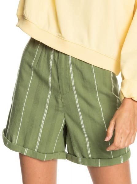 Желтый женские шорты-бермуды diamond glow