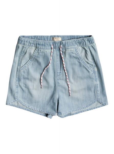 Дев./Девочкам/Одежда/Юбки и шорты Детские джинсовые шорты Genial Moment 4-16