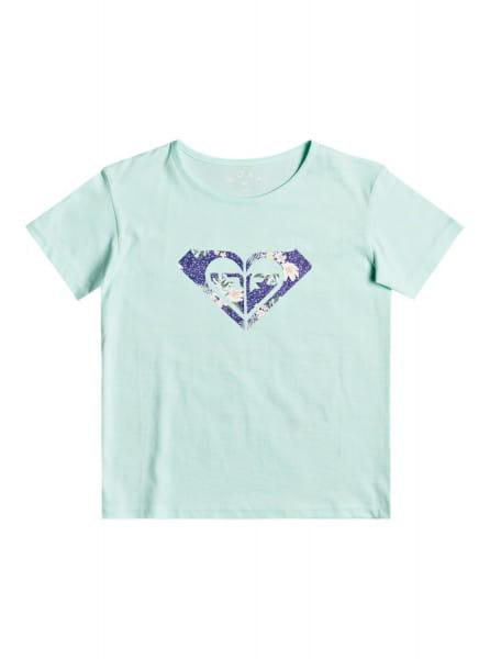 Голубой детская футболка day and night 4-16