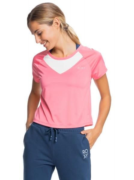 Коричневый женская спортивная футболка sunset temptation