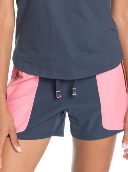 Коричневый женские спортивные шорты get over