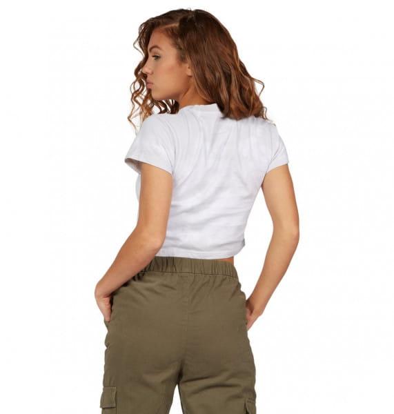 Жен./Одежда/Футболки, поло и лонгсливы/Футболки Женская укороченная футболка Trippin