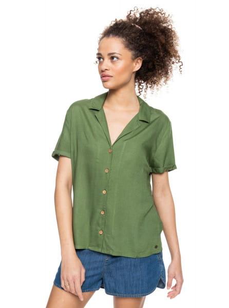 Бордовый женская рубашка с коротким рукавом remind to forget