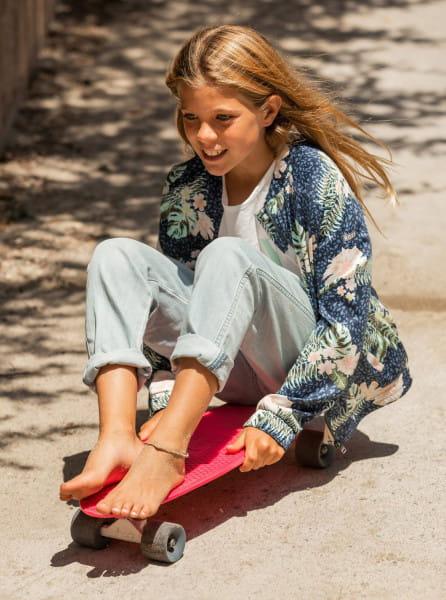 Голубой детские свободные джинсы yeah bali baby 4-16