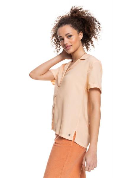 Жен./Одежда/Блузы и рубашки/Рубашки с коротким рукавом Женская рубашка с коротким рукавом Remind To Forget