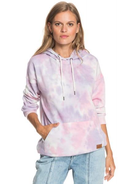 Розовое женское худи ocean goer