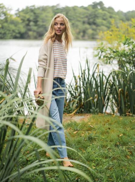 Жен./Одежда/Джинсы и брюки/Прямые джинсы Женские прямые джинсы Vertical Rhythm
