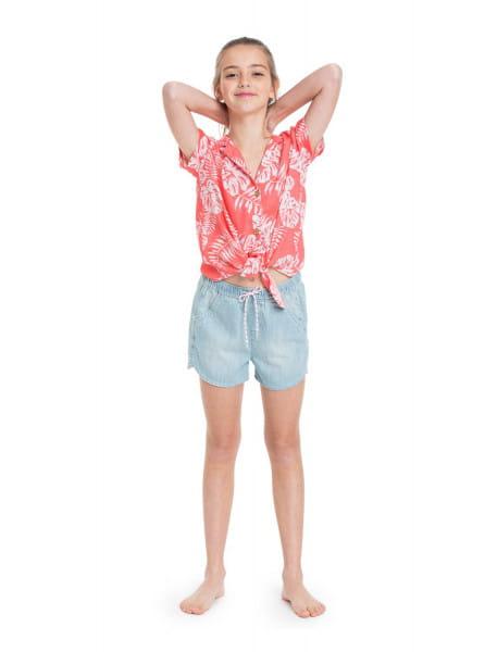Дев./Девочкам/Одежда/Рубашки и блузки Детская рубашка с коротким рукавом Ring Ring 4-16