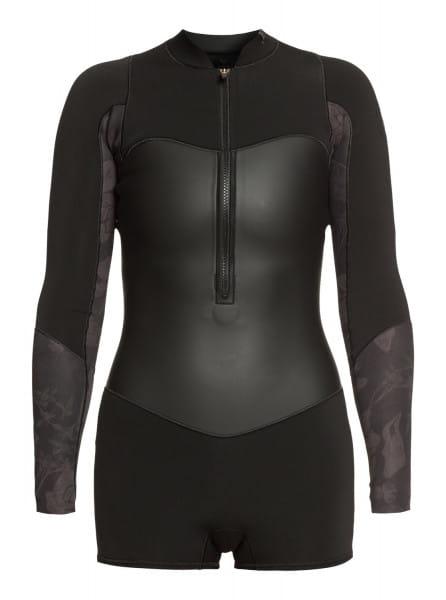Женский гидрокостюм с длинными рукавами и молнией на груди 1.5mm