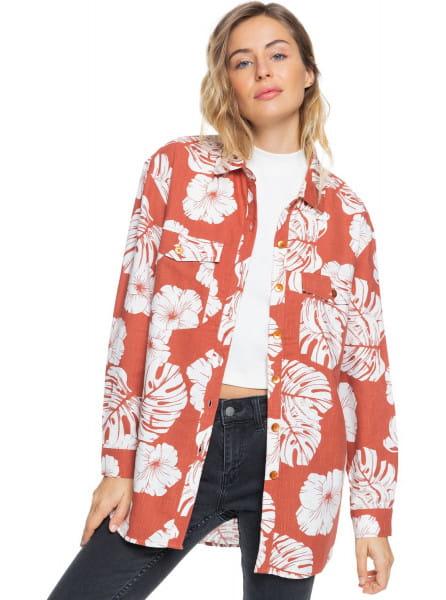 Жен./Одежда/Блузы и рубашки/Рубашки с длинным рукавом Женская рубашка с длинным рукавом Turn It Up