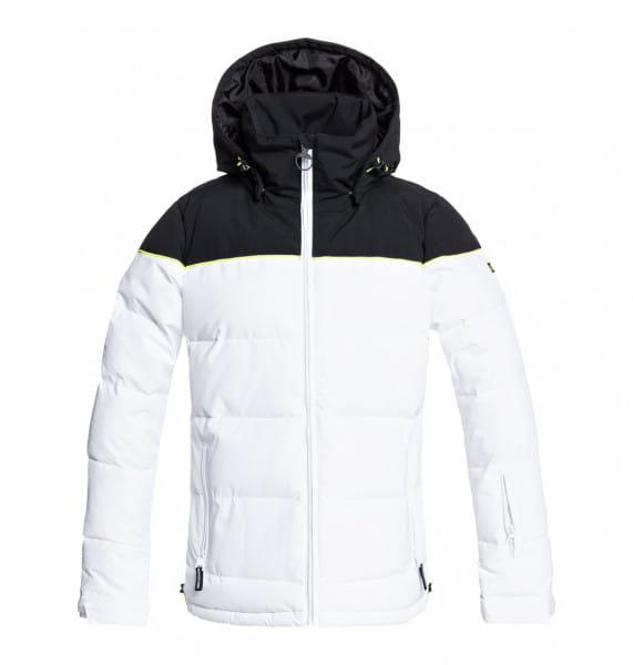Белый женская сноубордическая куртка diva