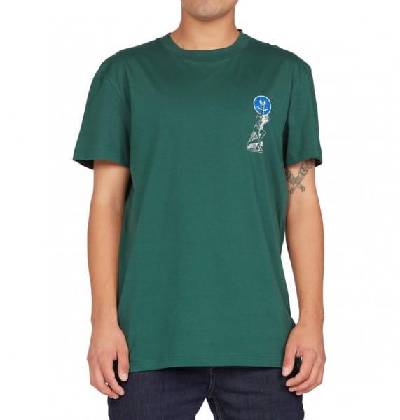 Зеленый мужская футболка hold tight