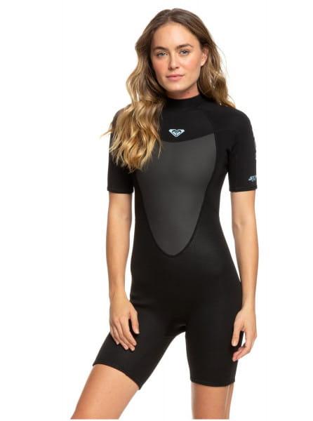 Женский гидрокостюм с коротким рукавом и молнией на спине 2/2mm