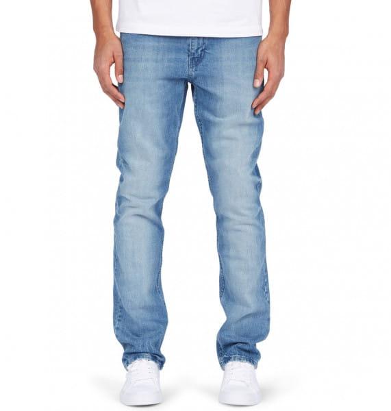 Белые мужские прямые джинсы worker