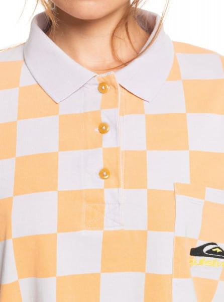 Жен./Одежда/Футболки, поло и лонгсливы/Поло Женская рубашка-поло с длинным рукавом Worldwide View
