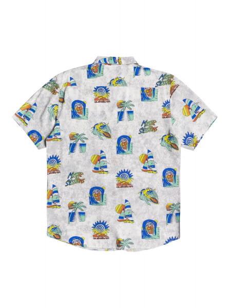 Муж./Одежда/Рубашки/Рубашки с коротким рукавом Мужская рубашка с коротким рукавом Island Pulse
