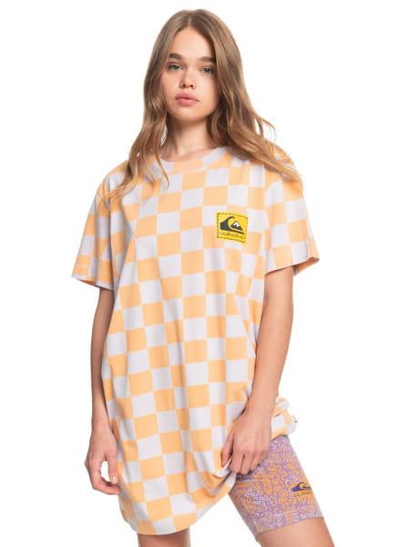 Мультиколор женское платье-футболка standard