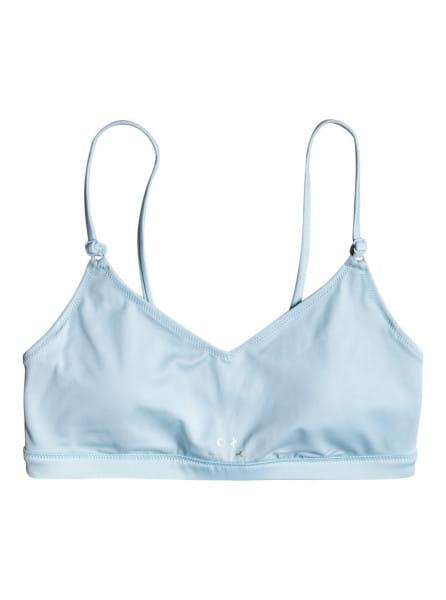 Голубой женский лиф roxy fitness