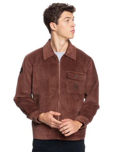 Коричневый мужская вельветовая куртка big bamboo