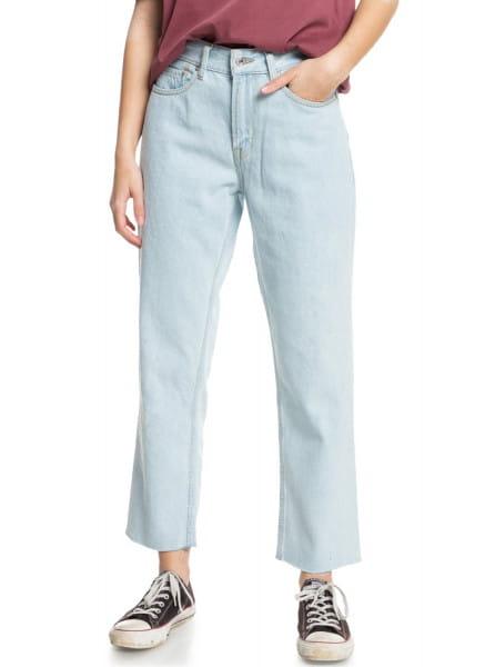 Фиолетовые женские зауженные джинсы the up size